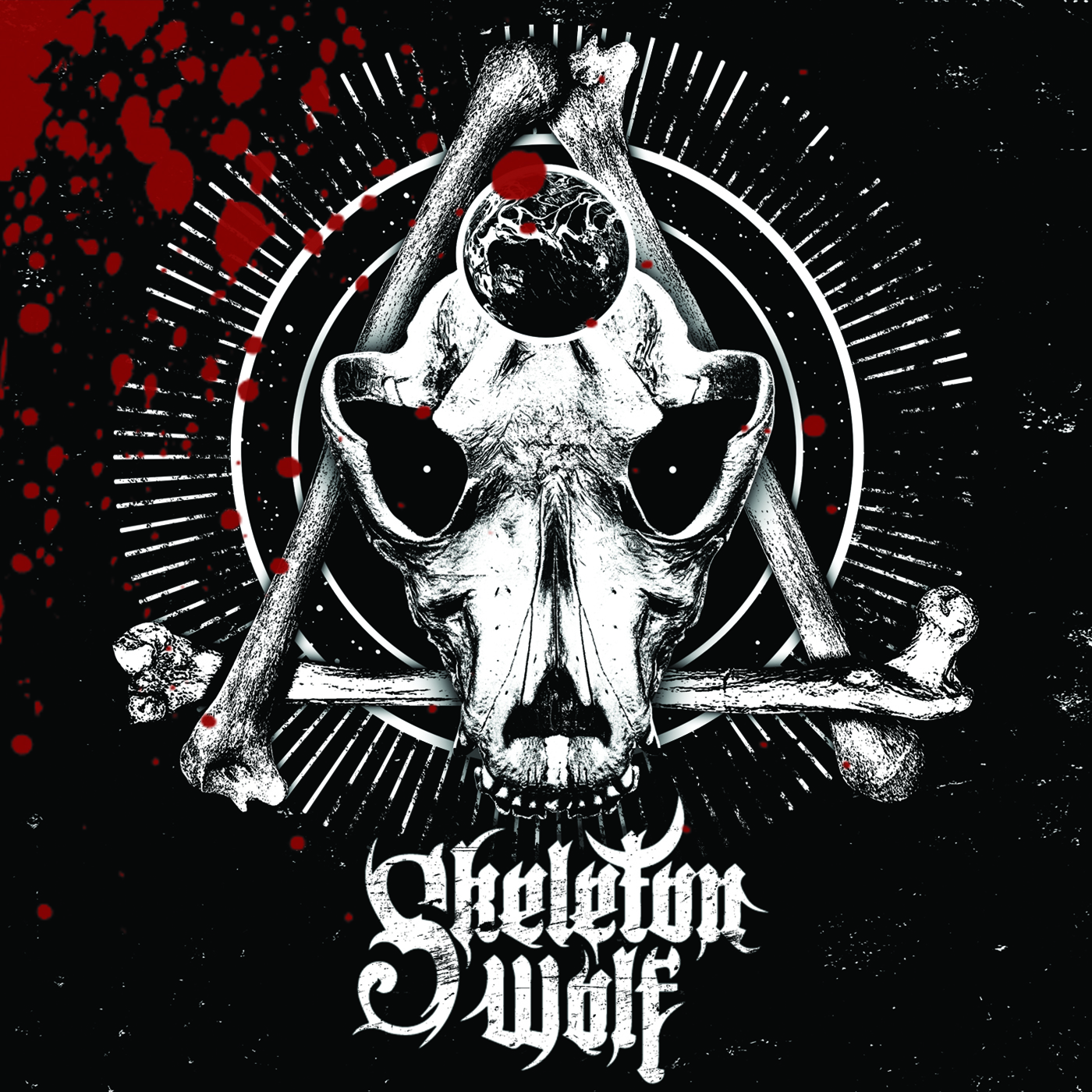 Skeleton Wolf - Cover
