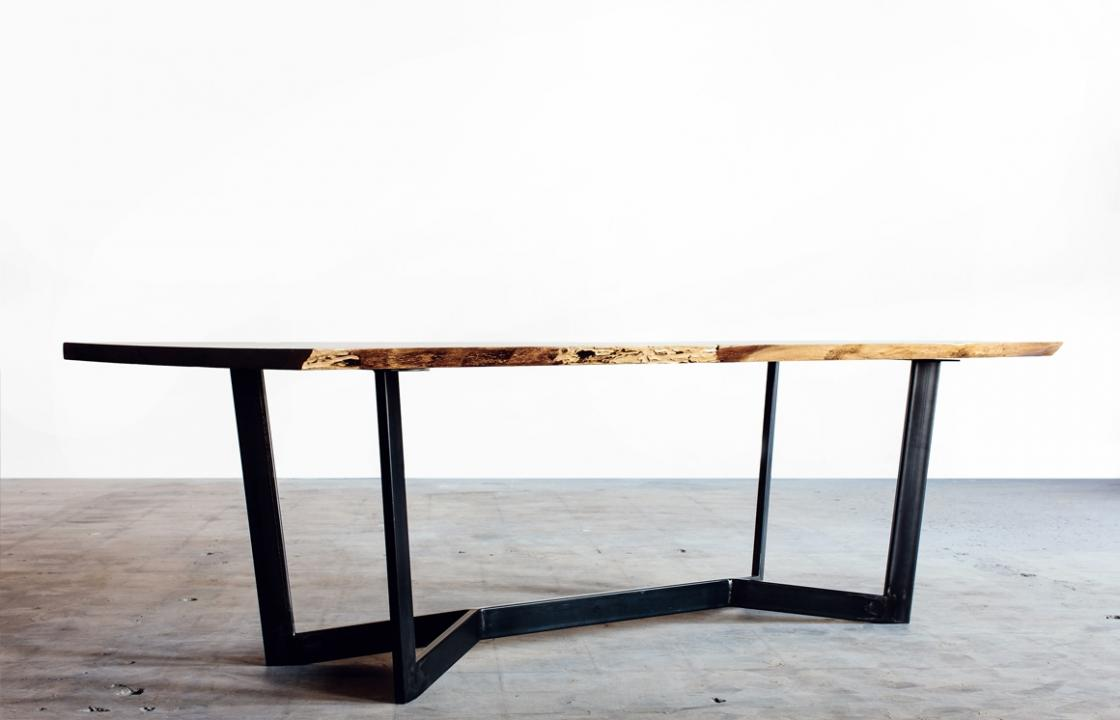 Y Natural Edge Dining Table