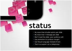 Present about Status for Technology theme