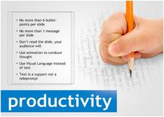 Present about Productivity for Education theme