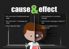 Present Cause and Effect for Education theme