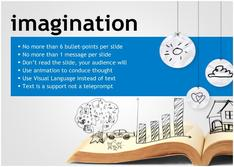 Present about Imagination for Education theme