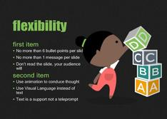 Present about Flexibility to Education theme