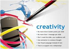 Present about Creativity for Telecom theme