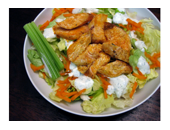 Hcg Diet Buffalo Chicken Salad recipe