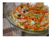 Hcg Diet Coleslaw recipe