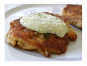 Hcg Diet Crab Cake recipe