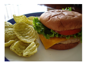 Nutrisystem Turkey Burger recipe