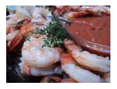 Hcg Diet Shrimp And Cocktail Sauce recipe