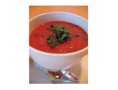 P90x Red Pepper Soup recipe