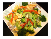 P90x Chicken Stir Fry recipe