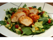 Dukan Diet Barbecue Chicken Salad recipe