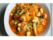 Dukan Diet Shrimp And Pumpkin Curry recipe
