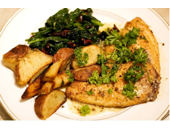 Hcg Diet Fried White Fish With Rosemary recipe