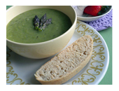 P90x Asparagus Soup recipe