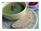 P90x Asparagus Soup recipe