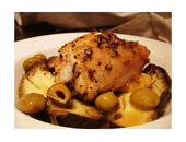 Dukan Diet Chicken Thigh With Mustard And Thyme recipe