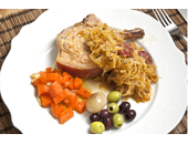 Dukan Diet Pork Chops And Sauerkraut recipe