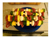Medifast Beef And Vegetable Kabobs recipe