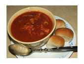 Weight Watchers Hearty Ground Turkey Soup recipe