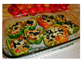 Medifast Stuffed Peppers recipe