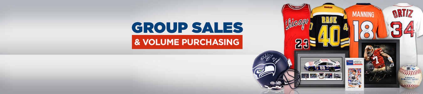 Group Sales and Volume Purchasing