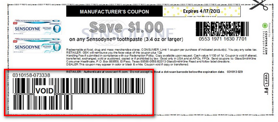 Manufacturing coupons online