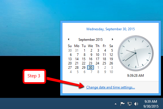 todays date and time