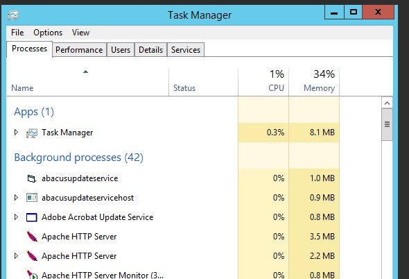 How to Access Task Manager on APC