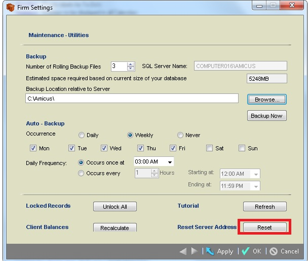 Amicus Billing Software