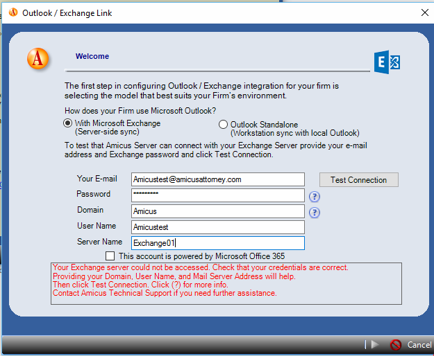 office 365 exchange server name