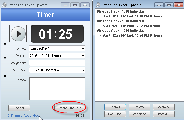 how to track time in officetools officetools knowledge base