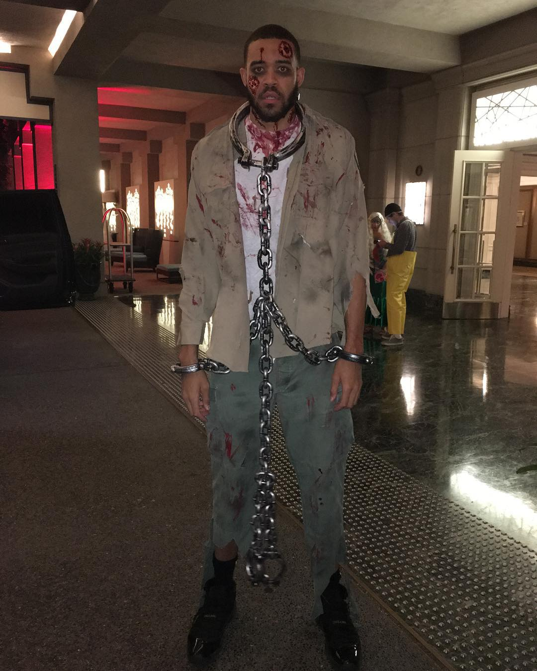 NBA players in epic Halloween costumes | HoopsHype