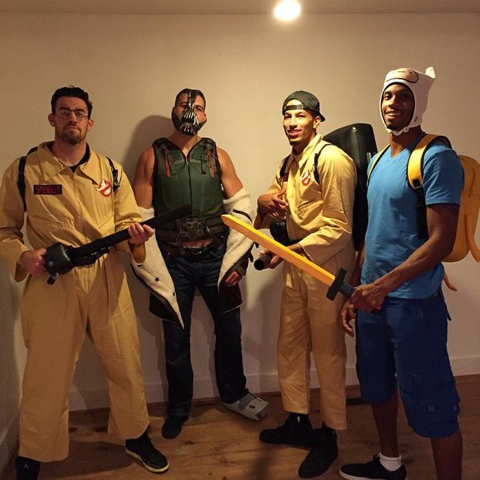 2014] NBA Halloween costumes