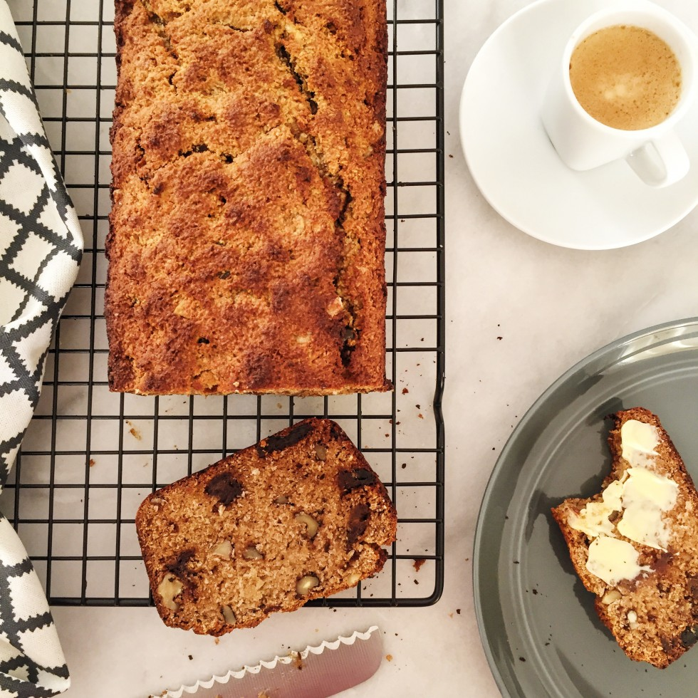 Date and Walnut Loaf-NEW