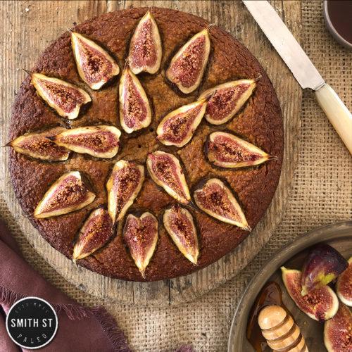 Fig, Almond & Honey Cake