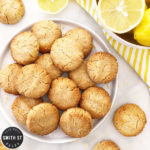 Lemon and Coconut Cookies