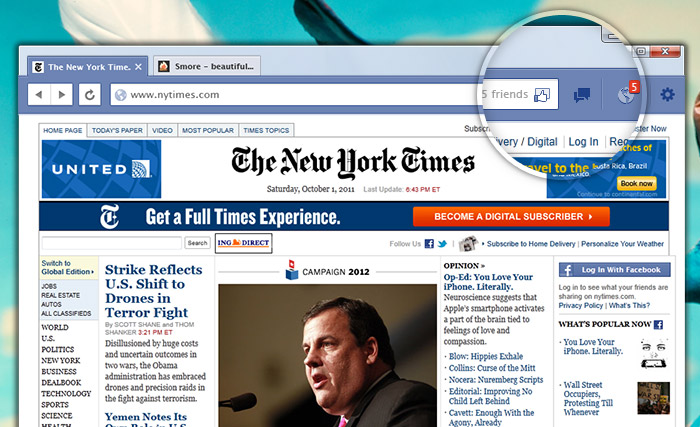 A custom web browser is Facebook's next step.