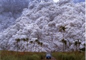 What is pyroclastic material?