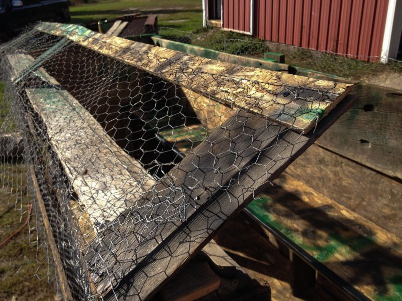 Huntwise blog build your own duck blind a diy approach duck blind swing away fence solutioingenieria Images