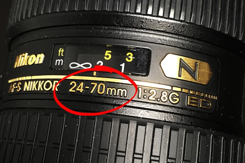 Getallen op een lens - brandpuntafstand