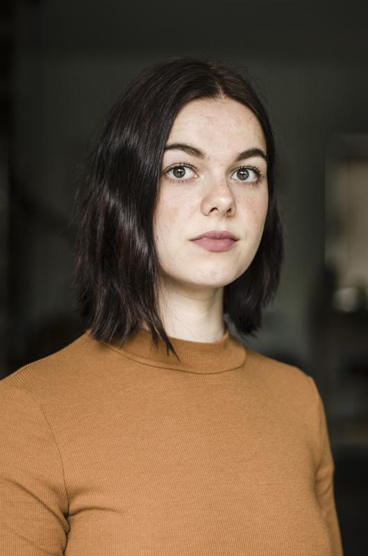 Beschikbaar licht - Portret van Kars en Britt