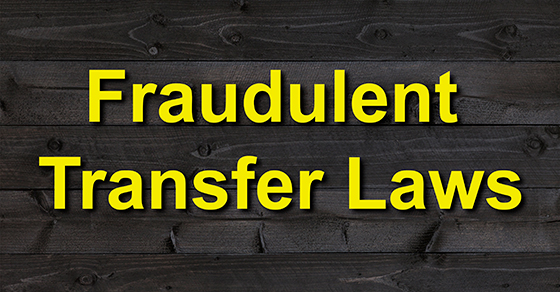 fraudulent transfer laws image