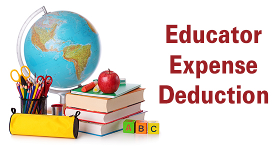 Are you a teacher? The ABC's of the Tax Deduction for Educator Expenses