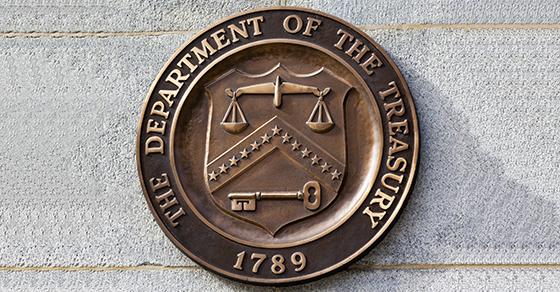 Dept. of Treasury Seal