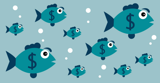 swimming with the big fish in business