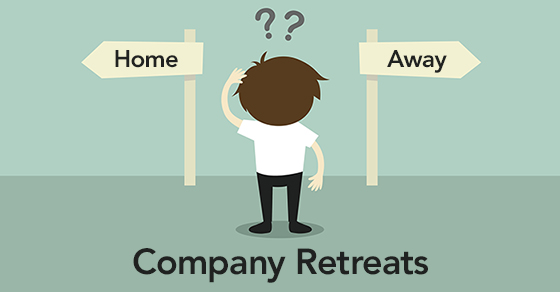 deciding where to hold a company retreat