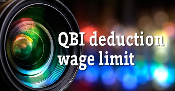 qbi deduction wage limit