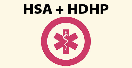 HSA combined with HDHP
