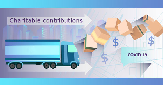 Business Charitable Contribution